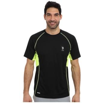 (ユーエスポロアッスン) U.S. POLO ASSN. メンズ トップス Tシャツ Raglan Performance T-Shirt [並行輸入品]