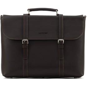 LOTUFF(ロトプ) 牛革 レザー 6 Color トートバッグ ビジネスバッグ ショルダーバッグ LO-0916 メンズ レディース Leather Tote Briefcase [並行輸入品]