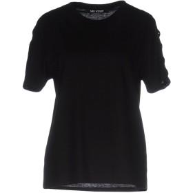 《期間限定セール開催中!》NEIL BARRETT レディース T シャツ ブラック L コットン 100%