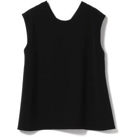 (デミルクスビームス)Demi-Luxe BEAMS シャツ ブラウス 【CLASSY.11月号掲載】【洗える】 2WAY ノースリーブブラウス レディース 黒 ブラック 38