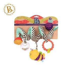 美國【B.Toys】蜜蜂團團轉(推車掛飾)【紫貝殼】