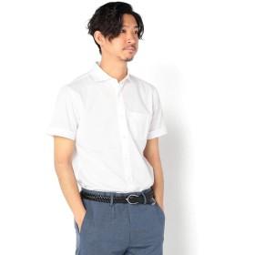 (ノーリーズ グッドマン) NOLLEY'S goodman TCカノコ半袖カッタウェイシャツ 9-0086-2-71-006 L ホワイト