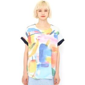 graniph グラニフ ミリオンアイスバックボタンTシャツ