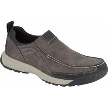 ドッカーズ メンズ スリッポン・ローファー シューズ Albright Slip-On Shoe Charcoal