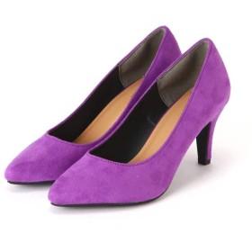 【公式/フリーズマート】ベーシックパンプス/女性/靴/パープル/サイズ:M/