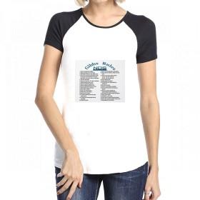 トップス NCISギブスのルール Women Raglan Short Sleeve T-Shirt レディーズ Tシャツ