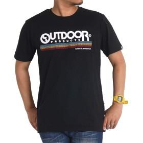 tシャツ メンズ 半袖 アウトドアプロダクツ OUTDOOR PRODUCTS 夏 ブランド c593ve M ブラックN9