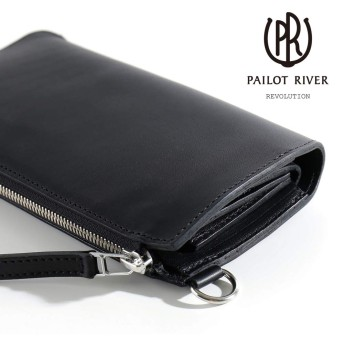 [パイロットリバー] パレット型ロングファスナーウォレット型 長財布 Round ZIP Long Wallet PR-PALETTE- L メンズ One Size Natural(Oil)