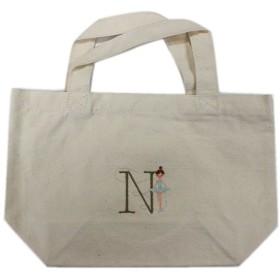 Shinzi Katoh イニシャル 刺繍トートバック(N) ナチュラル