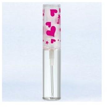 ヤマダアトマイザー グラスアトマイザー プラスチックポンプ 柄 50111 ハートキャップ ピンク 4.7ml YAMADA ATOMIZER