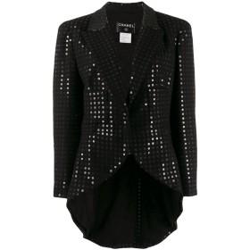Chanel Pre-Owned 2002 スパンコール ジャケット - ブラック
