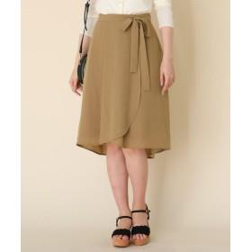 Couture Brooch(クチュールブローチ) 【WEB限定プライス/洗える】イレヘムリボンスカート
