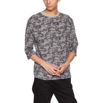 [チャンピオン] 7分袖Tシャツ C3-NS410 メンズ オックスフォードグレー 日本 M (日本サイズM相当)
