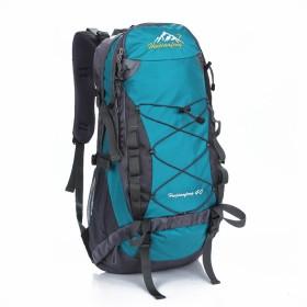 Phoenix Ikki 40L 軽量 撥水加工 通気性良 男女兼用 アウトドア ハイキング 旅行 登山ザック リュックサック バックパック デイパック レインカバー付き 水色