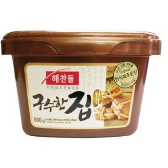 『ヘチャンドル』メジュデンジャン(田舎味噌) チゲ専用味噌(500g)br[韓国調味料][韓国料理][韓国食材][韓国食品]