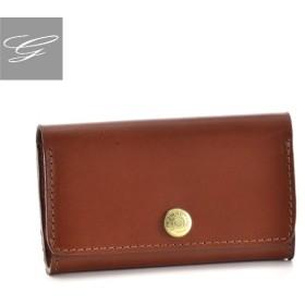 グレンロイヤル/GLENROYAL 名刺入れ メンズ ブライドルレザー カードケース ブラウン 036131-0001-0004