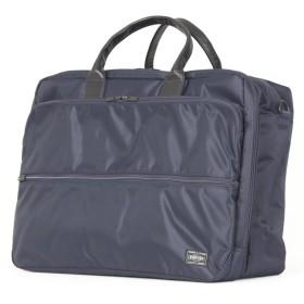 カバンのセレクション 吉田カバン ポーター タイム ビジネスバッグ オーバーナイター メンズ 2WAY B4 PORTER 655 08294 ユニセックス ネイビー 在庫 【Bag & Luggage SELECTION】