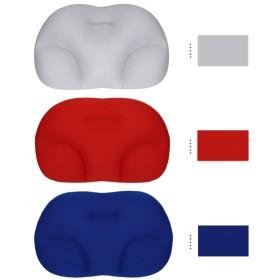 枕 安眠枕 快眠まくら 健康枕 3D立体構造 メモリーフォーム粒子 人間工学設計 水洗い可 肩こり対策 ストレートネック 仰向け横向き 腰枕 頚椎サポート ストレス解消