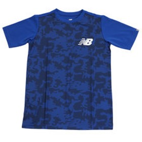 【Super Sports XEBIO & mall店:トップス】ジュニア カモスムースニット 半袖Tシャツ JJTP8878RYB
