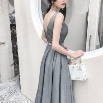 結婚式のお呼ばれ30代 ノースリーブ ロングドレス ロング long ドレス ロングドレス ロングドレス セクシー ドレス ライ