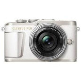 【カメラポーチ付】OLYMPUS[オリンパス] PEN E-PL9・14-42mmEZレンズキット ホワイト