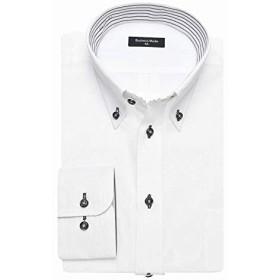 (ビジネススタイル アルフ) businessstyle alfu ワイシャツ 長袖 ワイシャツ イージーケア 形態安定 Yシャツ/alf-ml-wd-1130-M-39-82-KSG001-A