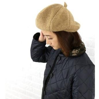 TIGRE BROCANTE(ティグルブロカンテ) ウールアーティストベレー帽・HR-8-GD-3271402・レディース