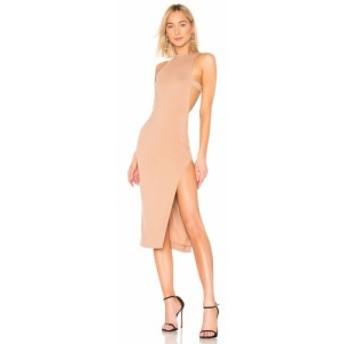 エヌビーディー NBD レディース ワンピース ワンピース・ドレス Late Night Midi Dress Nude