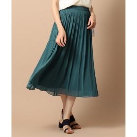 【エニィスィス/any SiS】 【洗える】チュールプリーツ スカート