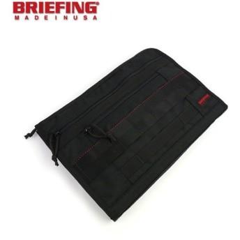 "BRIEFING(ブリーフィング) バリスティックナイロンドキュメントケース クラッチバッグ""FILE TAP""・BRF184219-2771402・レディース"