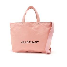 <ジル スチュアート/JILL STUART> [WEB限定商品] JILLワイドキャンバストートバッグ(0929280021) ピンク 【三越・伊勢丹/公式】
