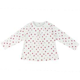 [キッズ]シンプルフリー Tシャツ ベーシック 長袖 ピンク ベビー・キッズウェア キッズ(100~120cm) トップス(女児) (79)