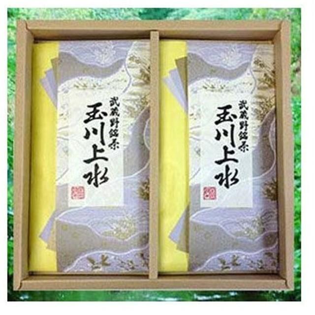 鈴木園 SZK-T-4 【のし・包装可】狭山茶「玉川上水」詰め合わせ(紫)100g×2(200g) (SZKT4)