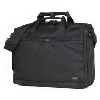 カバンのセレクション 吉田カバン ポーター ステージ ビジネスバッグ 3WAY メンズ 軽量 PORTER 620 08283 ユニセックス ブラック 在庫 【Bag & Luggage SELECTION】