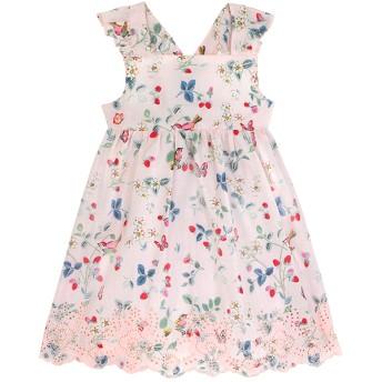 【3-6ヶ月】ベビー ブロドゥリ アングレーズ ドレス バード&ベリー