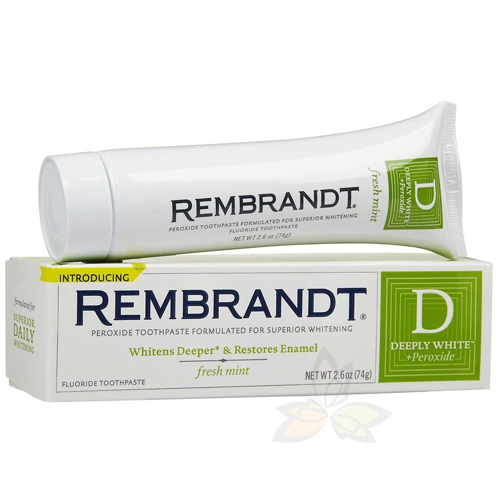 美國 Rembrandt 林布蘭 專業淨白牙膏 1條 兩款可選 (百奧田 美妝保養)