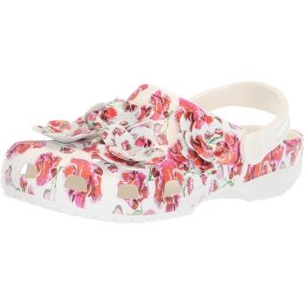 [クロックス] サンダル クラシック タイムレス クラッシュ ローズ クロッグ レディース Floral/White US M4W6(22 cm)