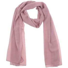 D DOLITY イスラム女性教徒 ターバン スカーフ ヘッド 首 フルカバー 薄い 通気性 全7色   - ほこりピンク