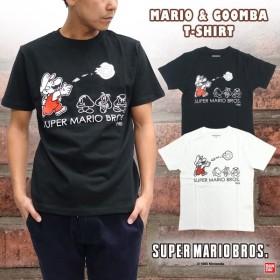 【スーパーマリオブラザーズ】マリオ&クリボー Tシャツ