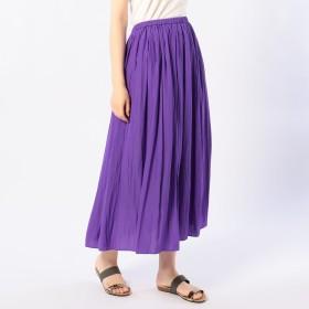 NOLLEY'S(ノーリーズ)/割繊ロング丈ギャザースカート