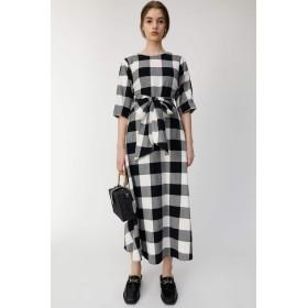 [マウジー] ワンピース ドレス BLOCK CHECK ドレス 010CSH30-0730 S ブラック レディーズ