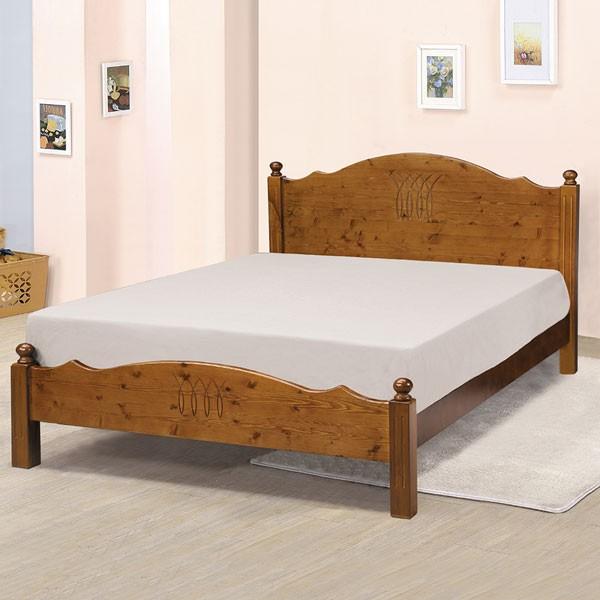 YoStyle 桑妮床架組-雙人5尺(不含床墊) 實木床架 床組 新房 嫁妝 專人配送安裝