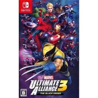 【中古】MARVEL Ultimate Alliance 3: The Black Order Nintendo Switch ソフト 任天堂 ニンテンドースイッチ HAC-P-APY2A / 中古 ゲ