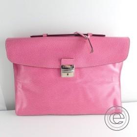 E.MARINELLA マリネッラ 2WAYクラッチ/ビジネスバッグ ピンク メンズ