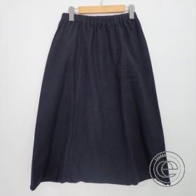 美品 evam evaエヴァムエヴァ V163T960 flannel cotton easy sarrouel pantsフランネル コットンイージーサルエルパンツM スミ レディース