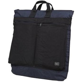 カバンのセレクション 在庫限り 吉田カバン ポーター ラボラトリー ヘルメットバッグ メンズ A3 PORTER 826 05568 ユニセックス ネイビー 在庫 【Bag & Luggage SELECTION】