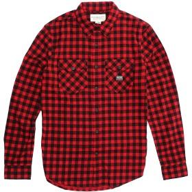 (デニム&サプライ ラルフローレン)Denim&Supply Ralph Lauren 長袖シャツ Ward Plaid Cotton Workshirt ハマーズリープラッド Ward Plaid Cotton Workshirt (L) [並行輸入品]