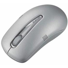 ELECOM M-D3URSV USB イメ-ジセンサ ワイヤレスマウス (シルバー)(中古品)