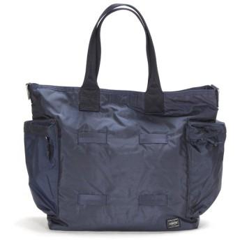 カバンのセレクション 吉田カバン ポーター フォース トートバッグ メンズ ミリタリー 大きめ 大容量 B4 PORTER 855 07500 ユニセックス ネイビー フリー 【Bag & Luggage SELECTION】
