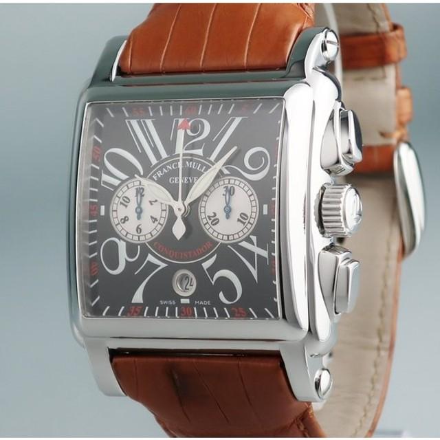 best service 3ec75 08874 3年保証 フランクミュラー 時計 国内正規 コンキスタドール ...